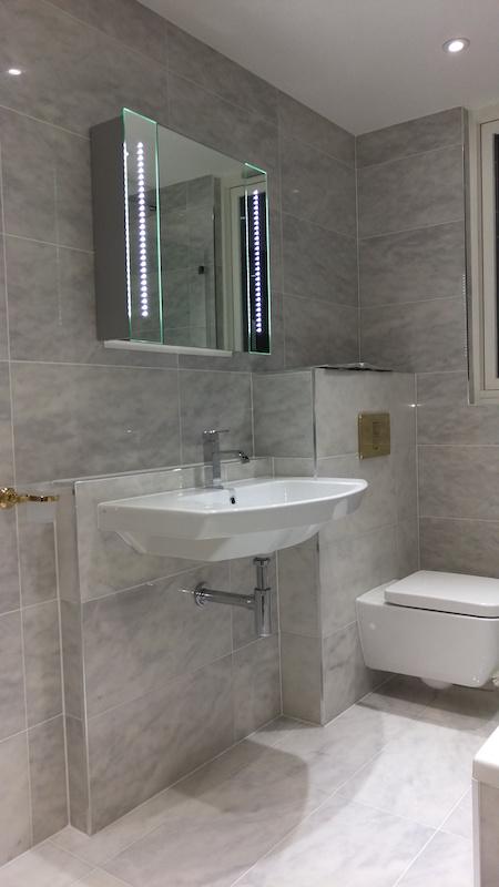 Bathroom Design East London bathroom refurbishment in east london e14