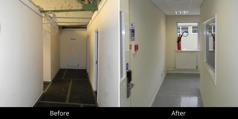Commercial Refurbishment Iver Heath Buckinghamshire Sl0